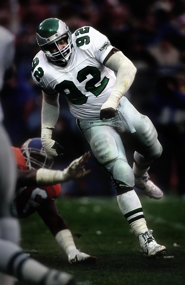 new style 1022e f6da8 109 Reggie White Philadelphia Eagles 1985 | Dave Black